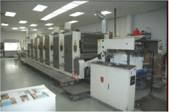 "1999 Mitsubishi 6-col. 28"" x 40"" Press"