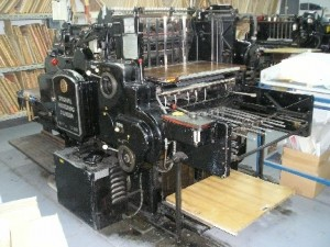 Heidelberg SBG Die Cutting Press