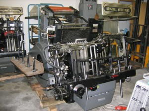 "Heidelberg GTP 13"" x 18"" Original Foil Stamper"