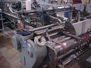 "International Speed King 52"" Folder Gluer"
